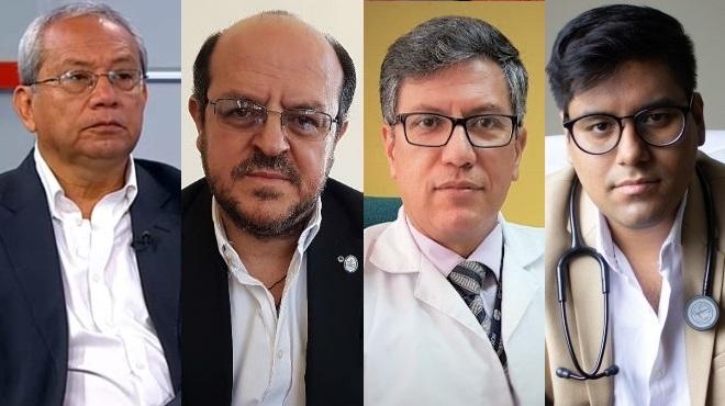 Fernando Sacoto, Santiago Carrasco, V�ctor �lvarez y John Farf�n.