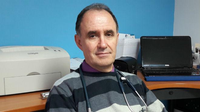 Francisco Jij�n, presidente de la Sociedad Ecuatoriana de Pediatr