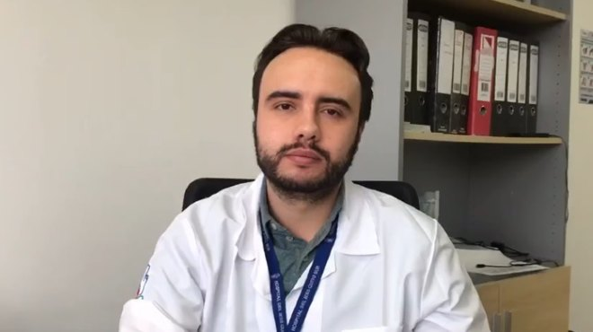 Francisco Mora, coordinador de Vigilancia Epidemiol�gica e Infectolog�a del IESS Quito Sur.