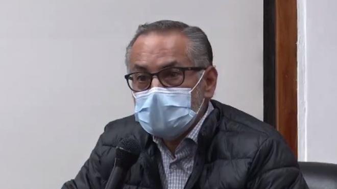 Francisco Viteri, secretario de Salud.
