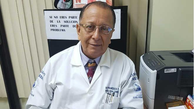 Francisco Plaza, coordinador general de Fumcoradt.