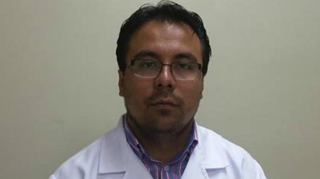 Freddy Saldarriaga, coordinador Zonal 4 de Salud