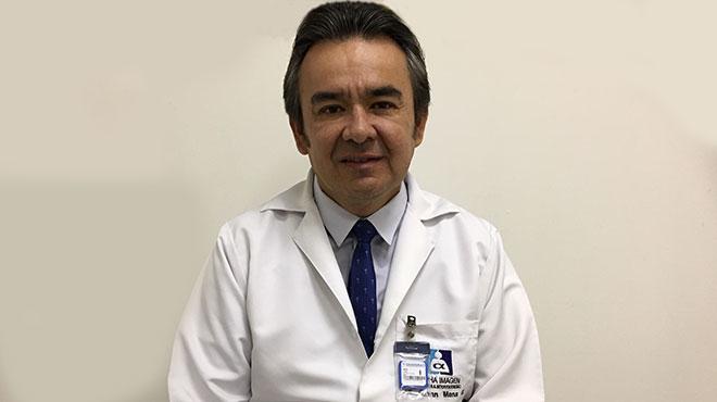 Glenn Mena, m�dico radi�logo.