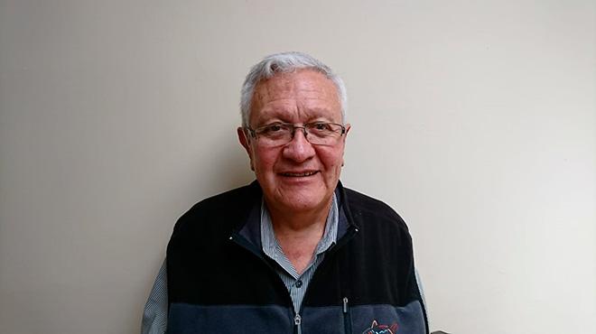 Gabriel Ord��ez Nieto, uno de los promotores de esta iniciativa.
