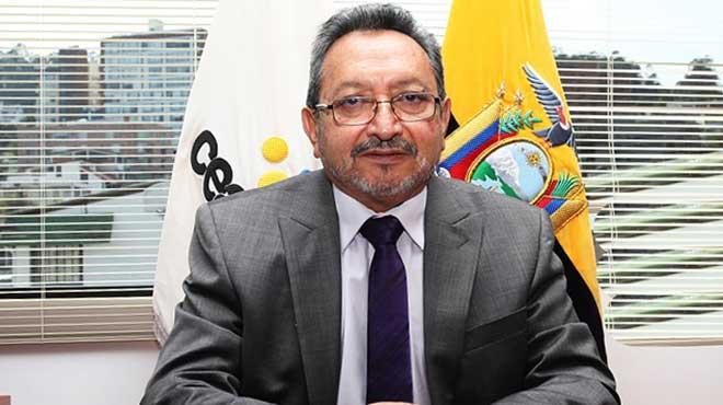 Gabriel Galarza, presidente del CACES.