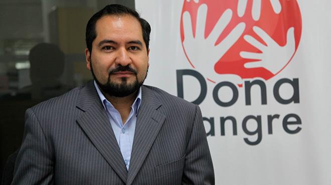 Galo Franco, coordinador del Programa Nacional de Sangre del MSP.