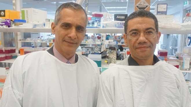 Jacob George y Mohammed Eslam.