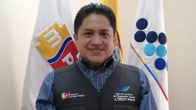 Germ�n Betancourt, coordinador zonal 9 (s) de ARCSA.