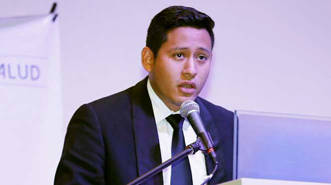 Giampiero Campelo, presidente de la FPSR.