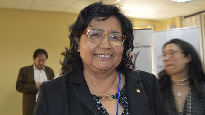 Gina Tambini, representate OPS/OMS en Ecuador.