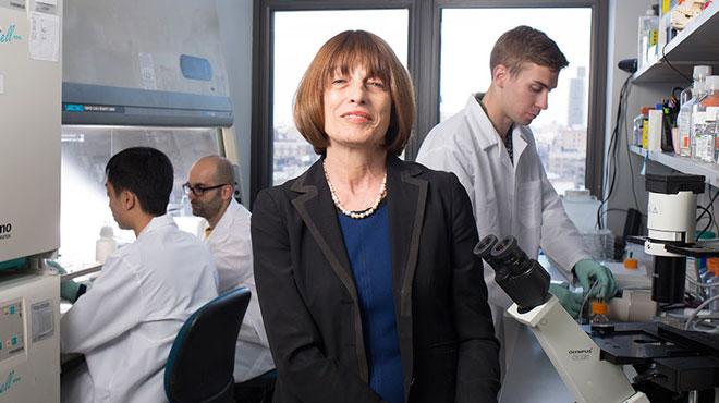 Gordana Vunjak-Novakovic, profesora y l�der de la investigaci�n junto a su equipo.