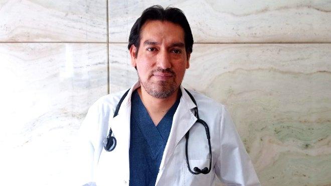 Guido Cayambe, m�dico ecuatoriano.