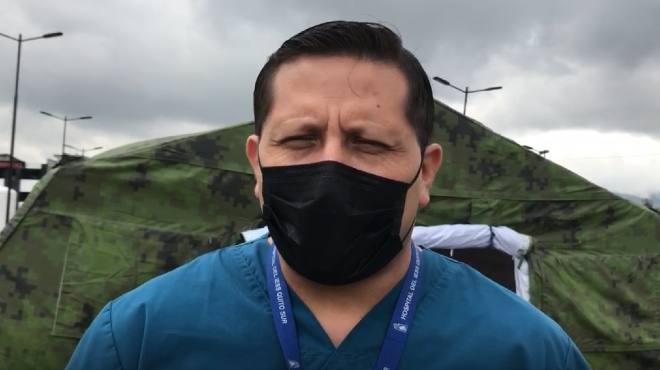 Hugo Espejo C�rdenas, subdirector de Medicina Cr�tica.