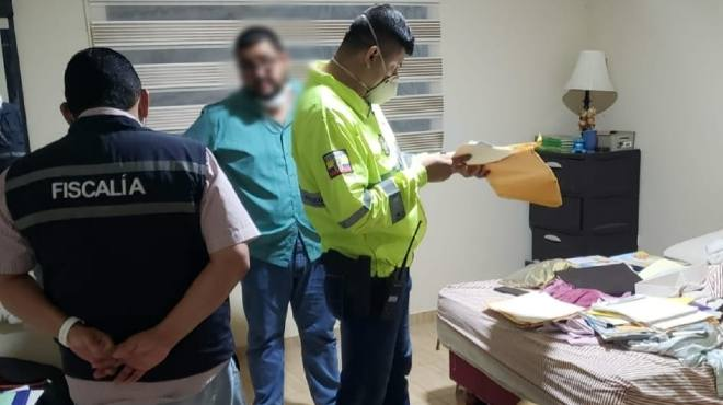 Se han realizado allanamientos en Guayaquil.