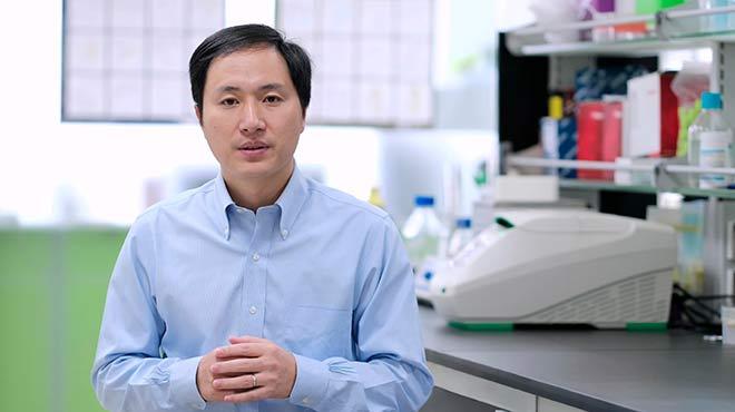 He Jiankui, investigador chino