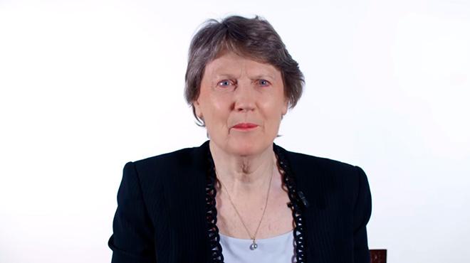 Helen Clark, copresidenta de la comisi�n convocada por la OMS, Unicef y The Lancet.