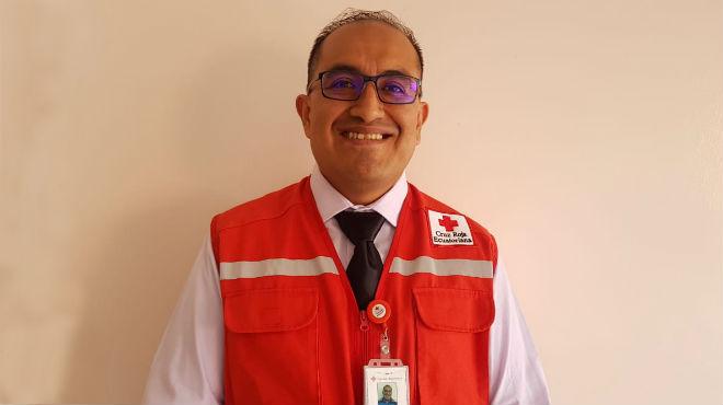 Henry Ochoa, coordinador de Equipos Nacionales de CRE.