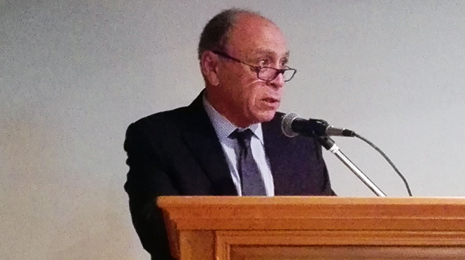 Henry Cohen, presidente de la Academia Nacional de Medicina de Uruguay.