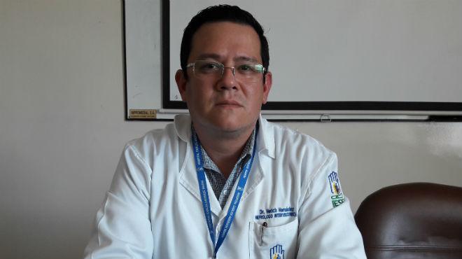 Herich Hern�ndez, nefr�logo intervensionista