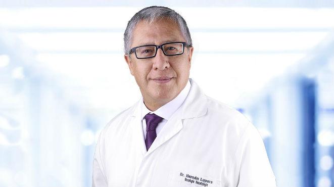 Hern�n Lupera, jefe del Servicio de Oncolog�a y Hematolog�a del Hospital Metropolitano.