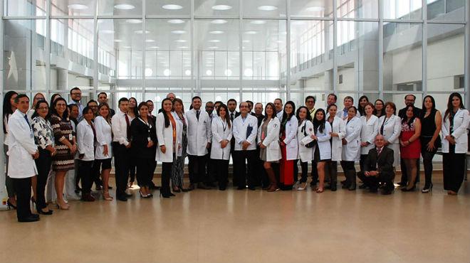 Participantes del Primer Concurso Interhospitalario de Casos Cl�nicos.
