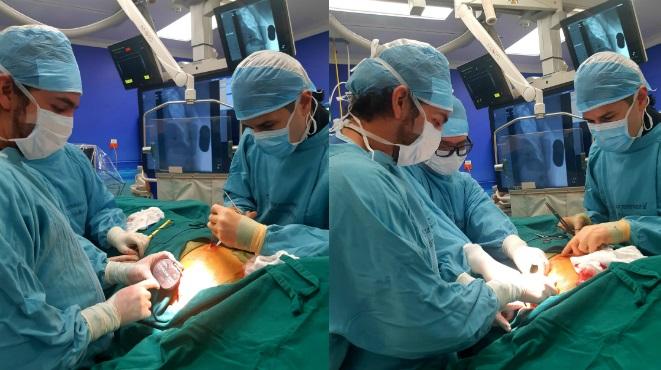 Implante de cardiodesfibrilador subcut�neo en el Hospital Metropolitano.