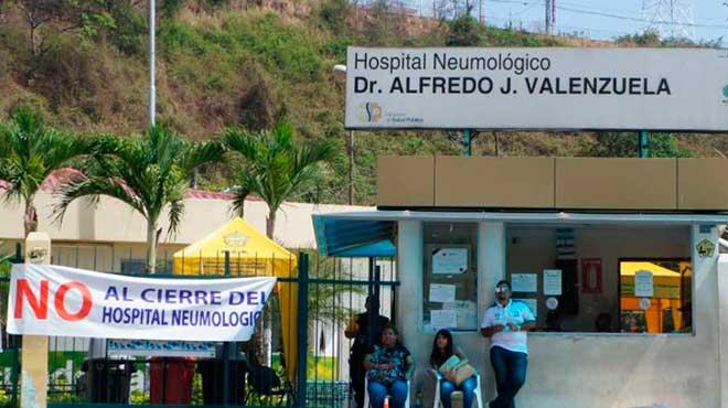 Hospital Neumol�gico Alfredo J. Valenzuela de Guayaquil.