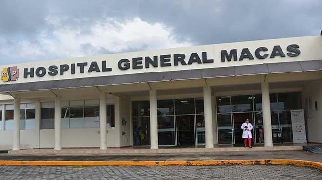 Hospital General de Macas.