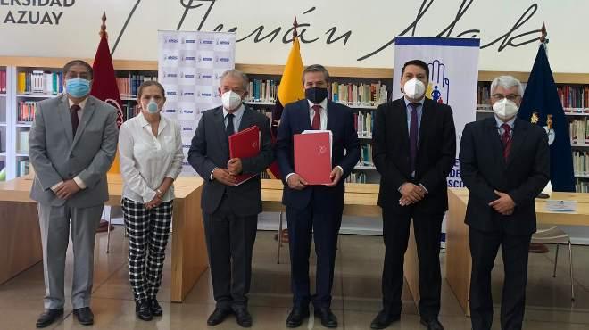 Firma de convenio entre ambas instituciones.