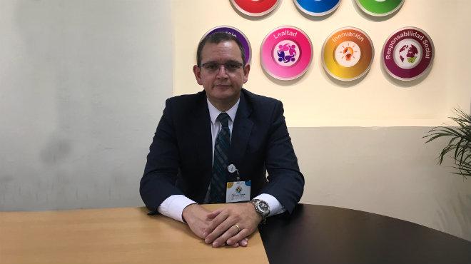 Jorge Luis Arbaiza, jefe del servicio de Cardiolog�a del Hospital Vozandes.