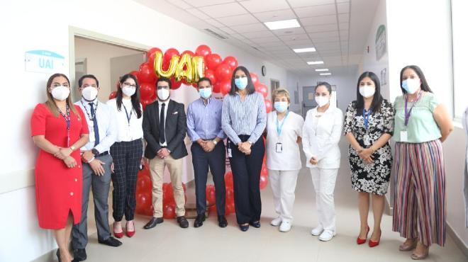 Inauguraci�n de la Unidad de Atenci�n Integral VIH/SIDA.