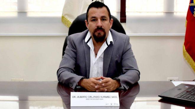 Alberto Orlando, director ejecutivo del INSPI.