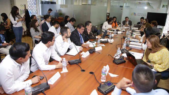 La Comisi�n de Educaci�n recibi� a estudiantes de internado rotativo.