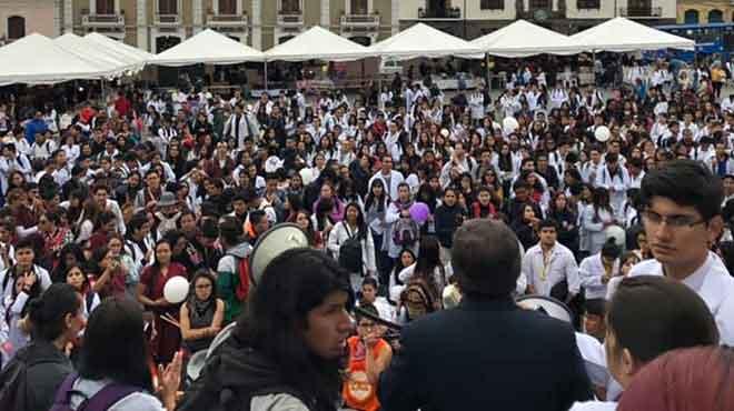 Se han autoconvocado en asambleas estudiantiles permanentes.