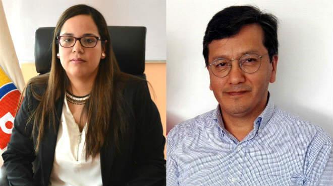 Inti Kory Quevedo (MSP) y Manuel Balde�n (UTE)