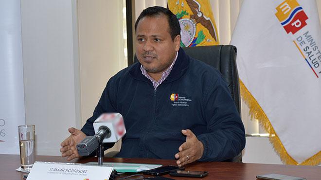 Itamar Rodr�guez, viceministro de Atenci�n Integral en Salud.