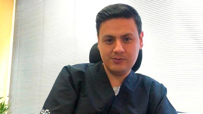 Iv�n Ortega, docente de la UDLA.
