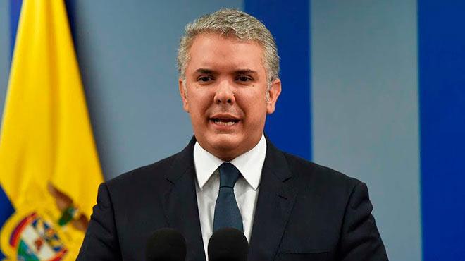 Iv�n Duque, presidente de Colombia.