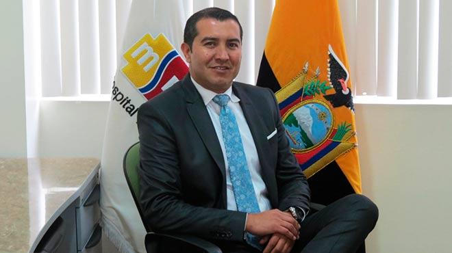 Ivar Gonz�lez, nuevo gerente del Hospital Pedi�trico Baca Ortiz