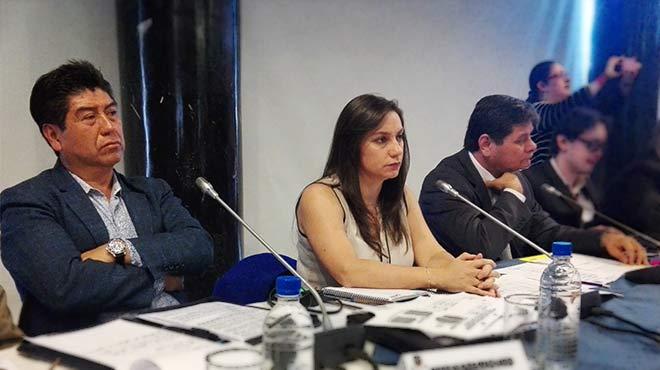 Jorge Yunda, Jackeline Calle y William Garz�n