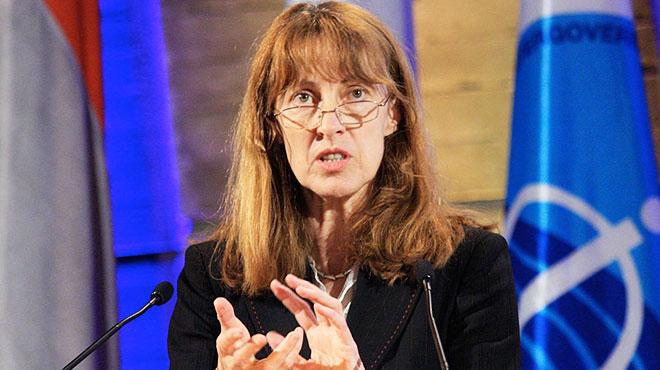 Jacqueline McGlade, Programa de las Naciones Unidas para el Medio Ambiente.