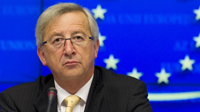 Presidente de la Comisi�n Europea, Jean Claude Juncker.