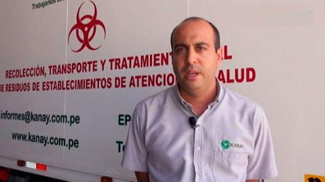 Jean Pierre Aza�edo, presidente de Kanay SAC.