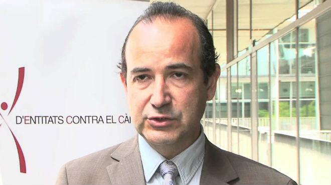 Joan Albanell, jefe de Servicio de Oncolog�a del Hospital del Mar.