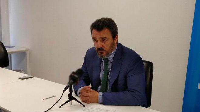 Joaqu�n Gonz�lez-Alem�n, representante de UNICEF Ecuador.