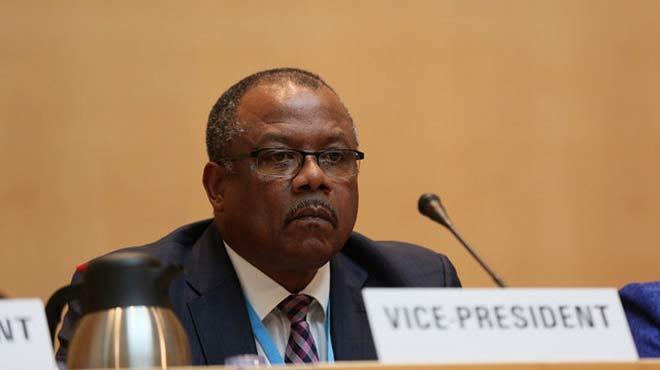 John Boyce, ministro de Salud de Barbados