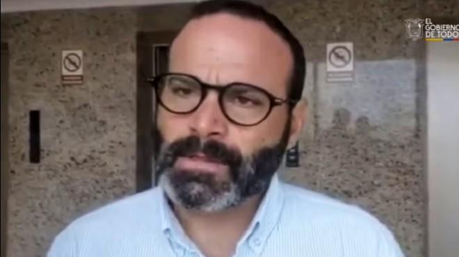 Jorge Wated, presidente del directorio de BanEcuador.