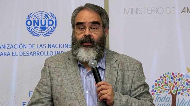 Jorge Jurado subsecretario de Calidad Ambiental.