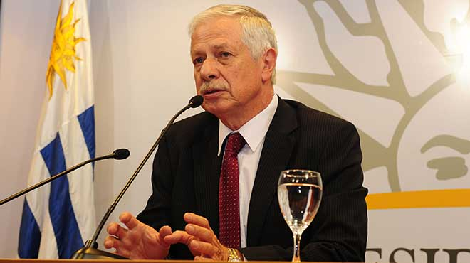 Jorge Basso, ministro de Salud P�blica