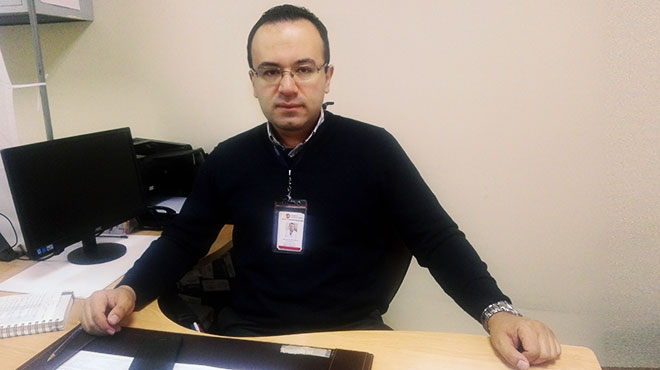 Jorge Luis Salazar, médico endocrinólogo del HEEE